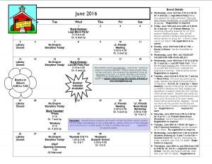 Cal June 2016
