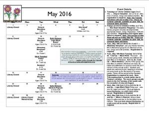 Cal May 2016