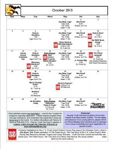 Calendar Oct 2015