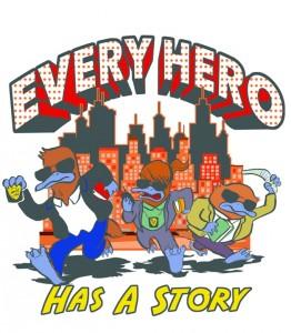 Every Hero summer logo